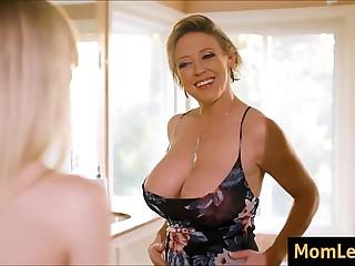 Sprog Envies Moms Chunky Tits