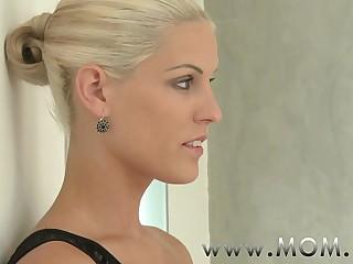 MOM Sex-crazed Blonde MILF craves his Cock