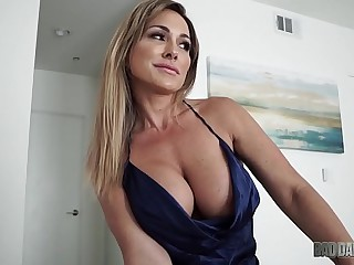 Hot Old lady Aubrey Baleful Fucks Husband While Role Playing His Step Daughter