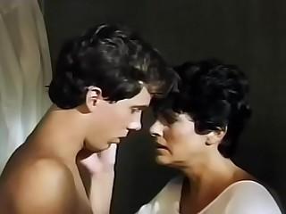 Mama gives son a bath