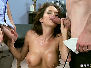 Maw in law peculiar veronica avluv 1st double penetration fearsome(brazzers)