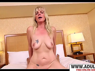 Youthful nourisher melina receives nailed well touching step son