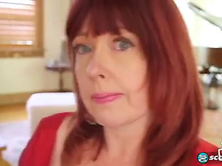 Glamorous redhead mother i'd feel attracted to to fuck