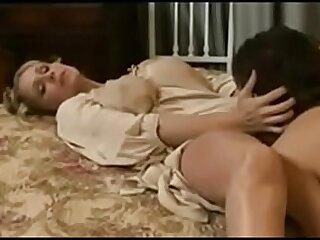 Young vintage mom fuck by stripling son in bathroom